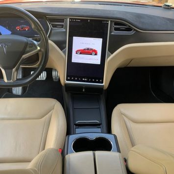 Tesla model s p85d performance